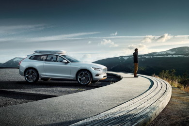 Volvo-XC-Coupe-2014-wth-Mountain-Background